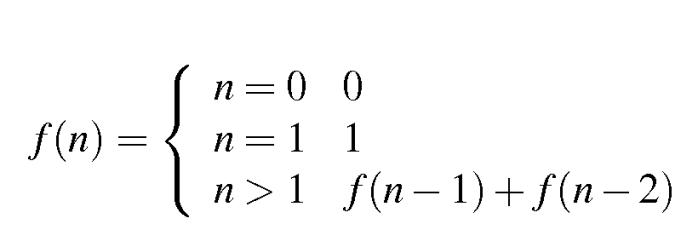 Fibonacci series definition