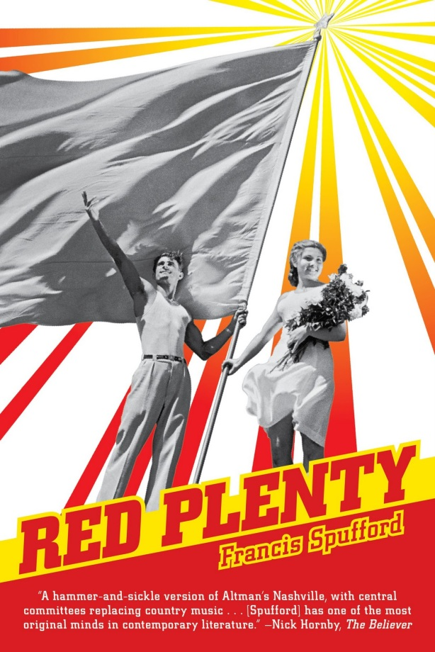 Cover of US edition of Red Plenty