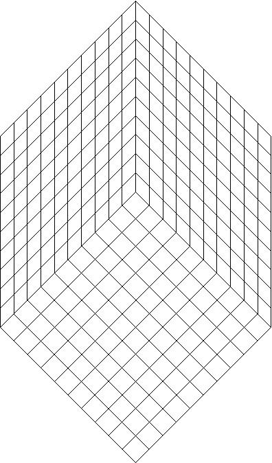three dimensional grid