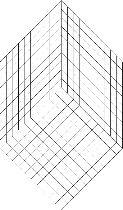 three dimensional grid