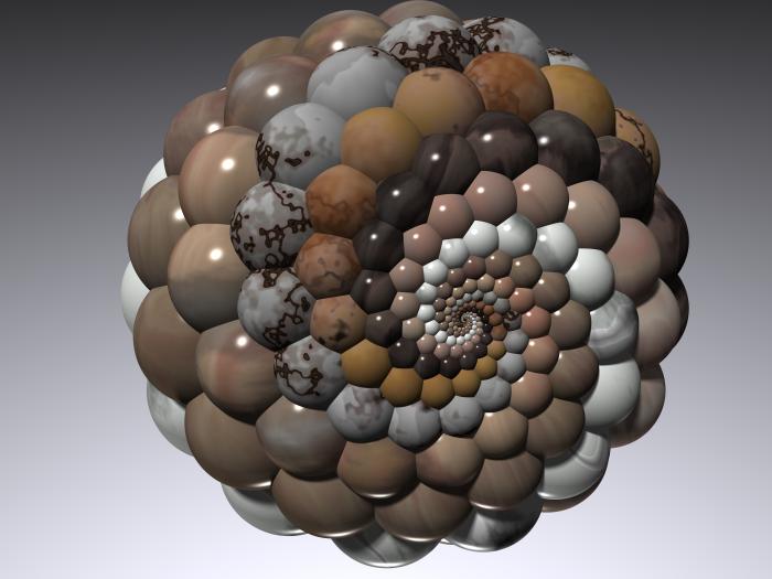 Doyle Spiral on Riemann Sphere from fedcomite (Flickr)
