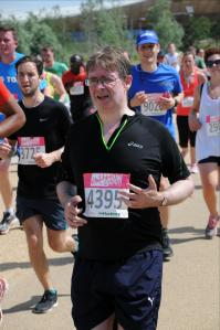 Running the Hackney half marathon