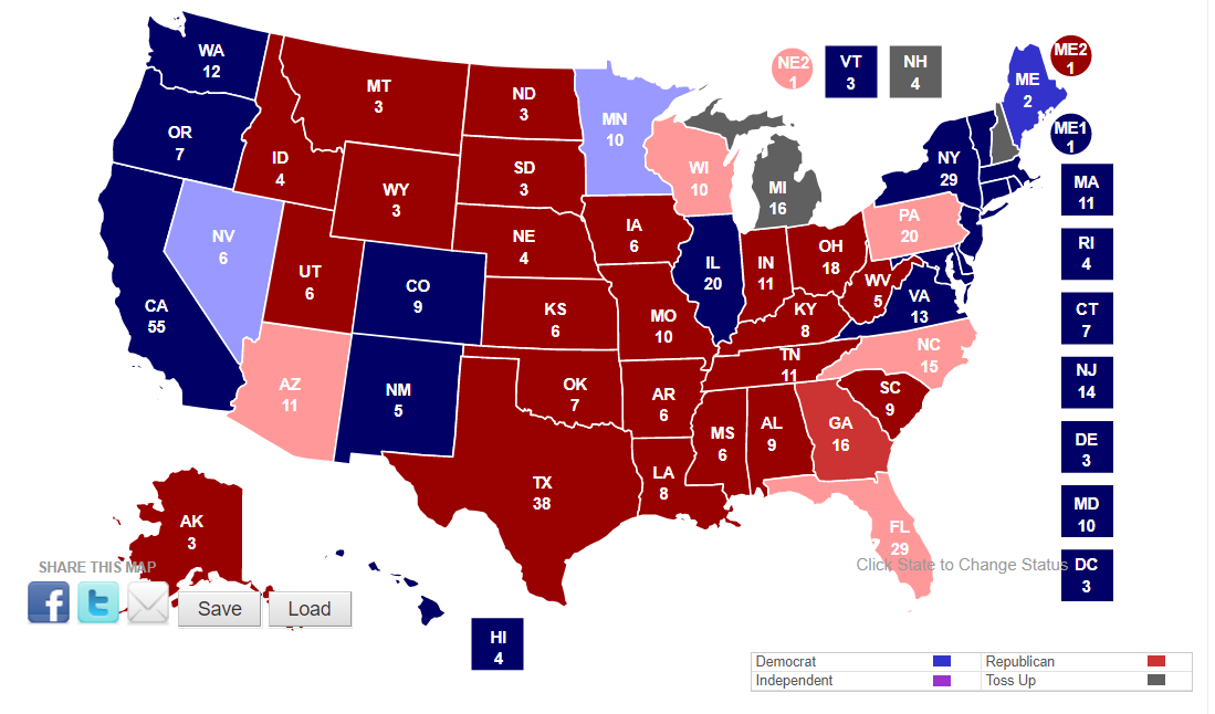 How good was my US electionsmodel?